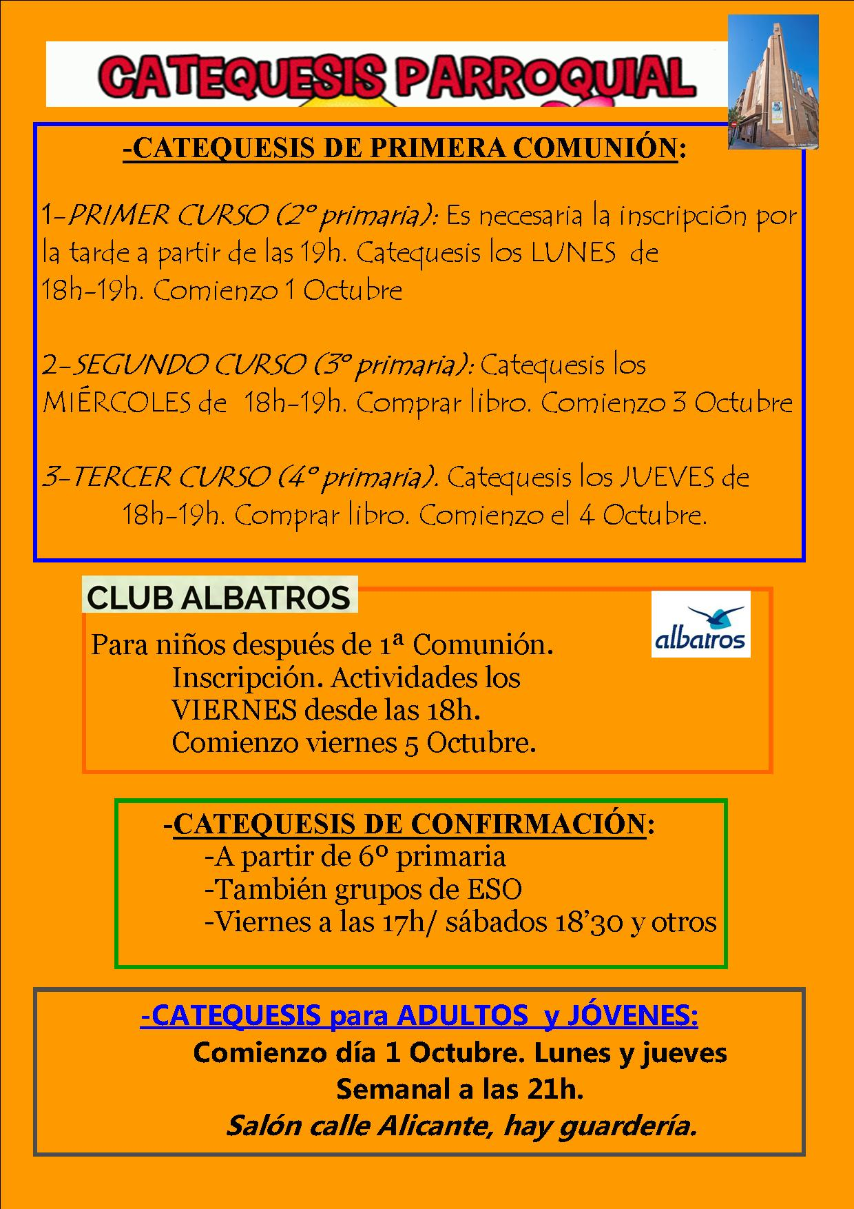 catequesis 17 18 1